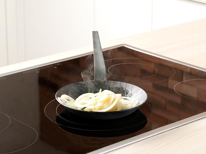 tornwald schmiede kaltgeschmiedete bratpfanne mit rauten pr gung 20 cm 2 9 cm hoch. Black Bedroom Furniture Sets. Home Design Ideas